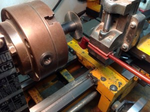 General bow layout to lathe